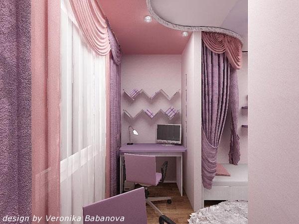 Как сделать ремонт в комнате с балконом