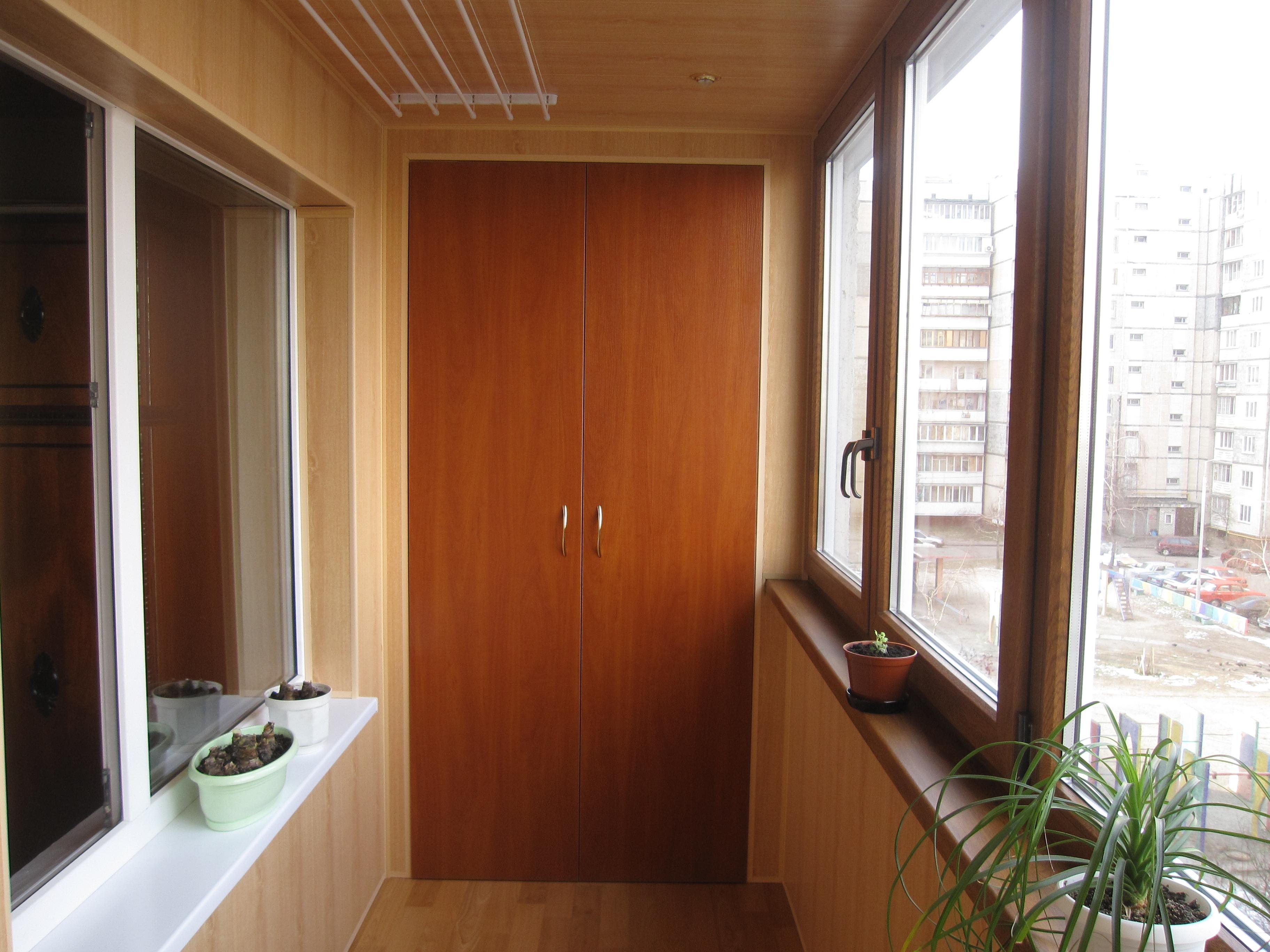 Внутренняя обшивка балконов и лоджий - ремонт балконов в хар.