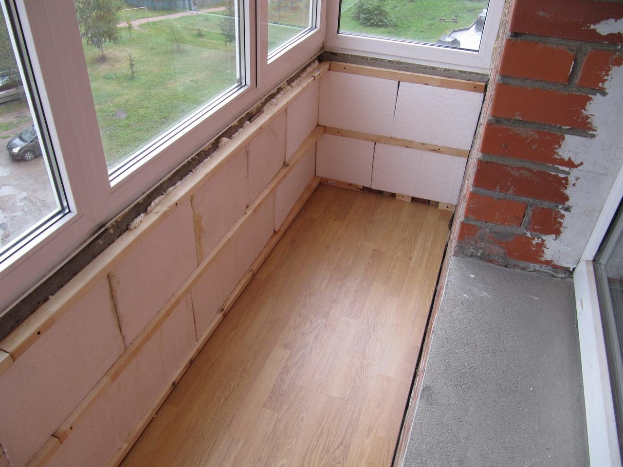 Утеплитель для лоджии и балкона изнутри утепление пола на