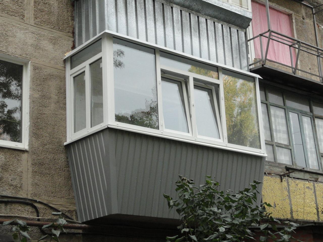 Частичный вынос балкона п 44. - дизайн маленьких лоджий - ка.