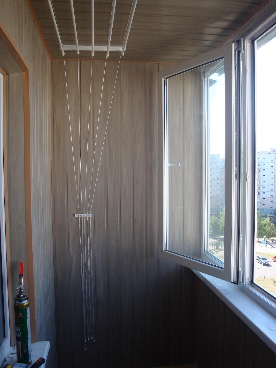 Сушильная система на балконе